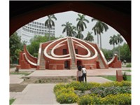 Completed in 1734 under the orders of Maharaja Jai Singh II, Jantar Mantar is an astronomical observ
