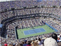 The U.S. Tennis Open (held in Queens) is the fourth and final event of the Grand Slam tennis tournam