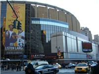 The current version of Madison Square Garden has been the home of the Knicks since 1968