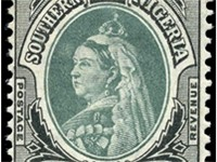 Stamp of Southern Nigeria picturing Victoria of the United Kingdom, 1901