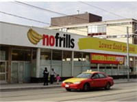 A no frills store in the Parkdale neighbourhood of Toronto.