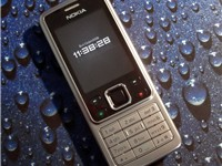 The Nokia 6300, a member of the Nokia 6000 series, Nokia's largest family of phones.