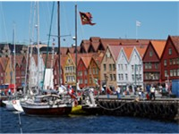 Bryggen in Bergen is on the list of UNESCO World Heritage Sites.
