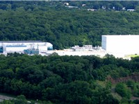 Suffern, New York: the sole Novartis pharmaceutical production facility in the United States.