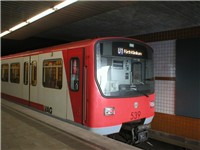 Nuremberg U-Bahn train
