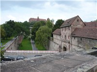 Old fortifications of Nuremberg