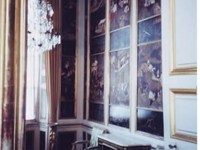 The Chinese Cabinet with chinoiserie, one of the rooms of Nymphenburg Palace