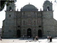 Main cathedral of Oaxaca