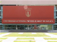 One of the main buildings on the campus of the Universidad Aut noma Benito Ju rez de Oaxaca