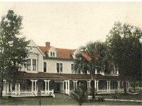 The Wyoming Hotel in c. 1905