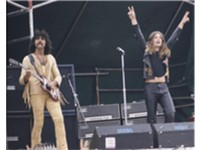Black Sabbath: Osbourne (right) with Tony Iommi in 1973
