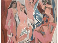 Les Demoiselles d'Avignon (1907), Museum of Modern Art, New York