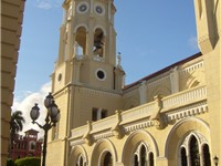 A church in the Panama City.