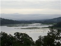 The Chagres River.