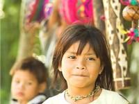 A Guarani girl.