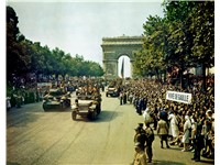 Liberation of Paris in August 1944.