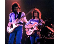 Left to right: Steve Rodby and Pat Metheny