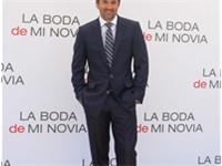 Dempsey presenting Made of Honor in Madrid