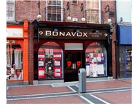 "The hearing aid shop that provided Hewson the nickname ""Bono Vox"""