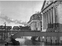 Museum Island with Pergamon Museum and Bode Museum (1951)
