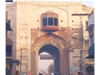 One of several gates leading into Peshawar