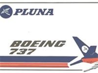An Old PLUNA poster. (1970s)