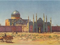Mesjed Koucheek, Qazvin, in 1921.
