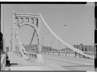 The Rachel Carson Bridge in Pittsburgh
