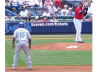 Furcal (left) with the Dodgers in 2008.