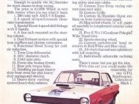 The SC/Rambler was purposefully promoted by AMC as a potent drag strip challenger