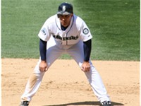 Ib  ez with the Mariners in 2008