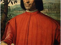 Lorenzo de' Medici, ruler of Florence and patron of arts