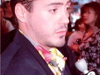Downey, Jr. at the premiere of Air America, 1990