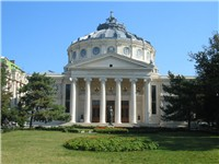 Romanian Athenaeum in Bucharest was opened in 1888