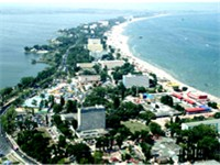 Mamaia, at the Black Sea shore