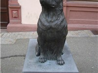 Rottweiler memorial in Rottweil, Germany