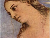 detail of Amor Profano, or is she Amor Sacro?