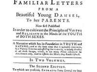 Title page of Pamela