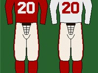 The 49ers' uniform, 1946-present