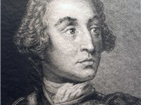 General James Edward Oglethorpe, a philanthropist and a representative of King George II to the Amer