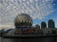 Science World geodesic dome