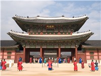 Gyeongbokgung palace.
