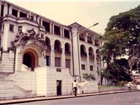 The Sierra Leone Supreme Court in the capital Freetown, the highest and most powerful court in the c