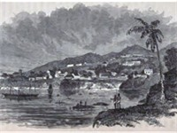 The colony of Freetown in 1856.