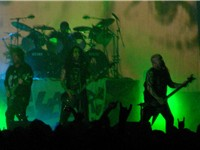Slayer performing at The Unholy Alliance Tour in October 2006