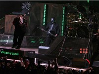 Slipknot at 2008's Mayhem Festival.