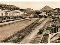 Ouenza's station, primarily for freight