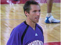 Nash averaged 10.5 minutes a game in his rookie year.