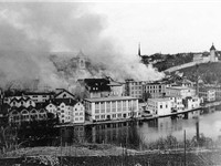 The bombing of Schaffhausen during World War II