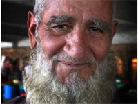 Elderly man from Tajikistan